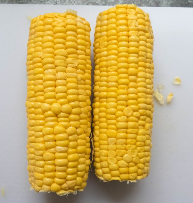corn on teh cob