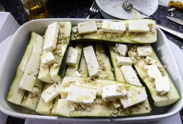 Greek Courgettes 1
