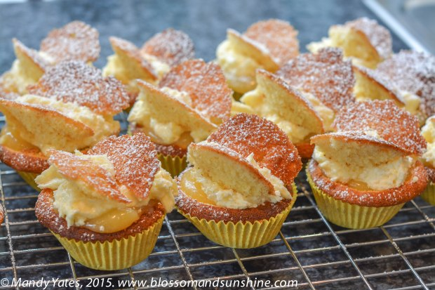 Lemon Curd Butterfly Fairy Cakes 1