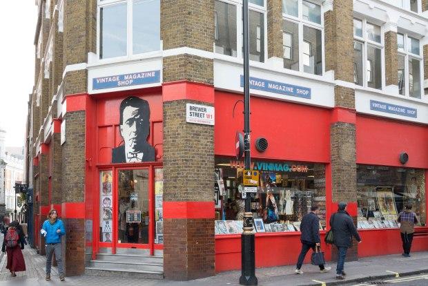 Vintage Magazine shop 1
