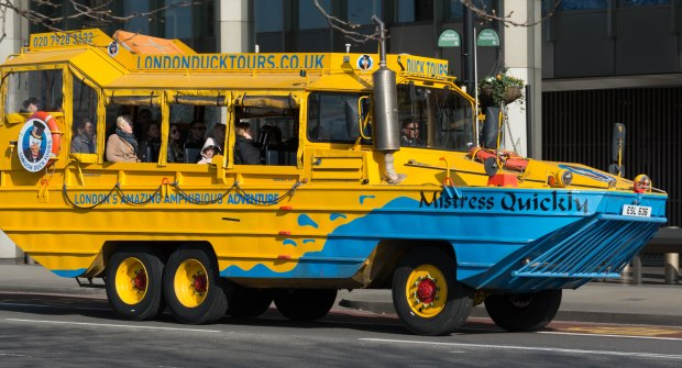 duck tours._